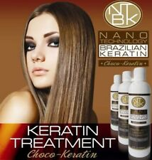 NANOBEAUTY BRAZILIAN KERATIN TREATMENT BLOW DRY HAIR STRAIGHTENING 100ML BOTTLE