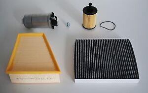 Ölfilter Luftfilter Kraftstofffilter Pollenfilter Skoda Fabia 6Y 1,4 1,9 SDI TDI