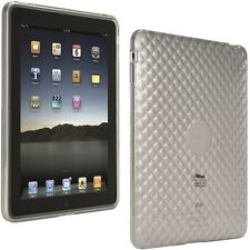 TRUST SHOCK ABSORBING TRANSPARENT SILICONE SKIN COVER TO PROTECT YOUR IPAD IPAD1