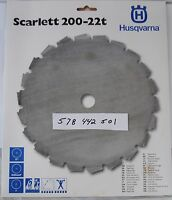 Husqvarna OEM  578442501  Scarlett 200-22t Wood Cutting Clearing Saw Blade 8""