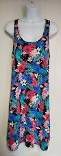 Secret Treasures Flamingo Floral Tropical Racerback Gown Sleepwear Small-Med