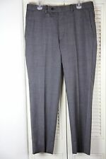 Aristo 18 Eighteen Gray Wool Pants Sz 34 Stirling Ar18sto Charcoal