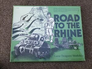 ROAD TO THE RHINE - Sept 1944 to April 1945 Game Designers Workshop