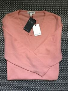 Marks & Spencer Autograph with Cashmere Jumper Size 14 Peach