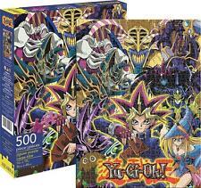 AQUARIUS JIGSAW PUZZLE YU-GI-OH! 500 PCS COMICS  #62121