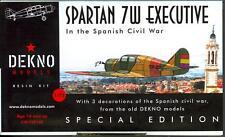 Dekno Models 1/72 SPARTAN 7W EXECUTIVE Spanish Civil War