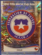 """Panini WM 2014 WC 2014 Sticker * WAPPEN/BADGE """"Chile"""""""