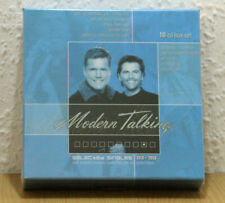 ♫ MODERN TALKING  - SELECTED SINGLES  BOX ( DIETER BOHLEN ) NEW M-CD