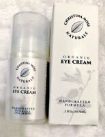 Christina Moss Naturals Organic Eye Cream ANTI AGING SKINCARE 0.5 Oz  FAST SHIP
