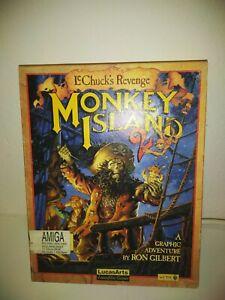 Monkey Island 2 - Le Chuck's Revenge - Commodore Amiga con scatola
