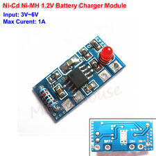 3V-6V 1A Ni-Cd Ni-MH Rechargeable Battery Charging Board 1.5V Charger Module