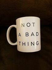 Justin Timberlake Mug Coffee Tea Ceramic Not A Bad Thing Concert Tour Exclusive