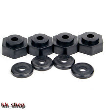 4x RC 17mm to 12mm Hex Conversion Adapter for 1:10 RC TRAXXAS SLASH Short Course
