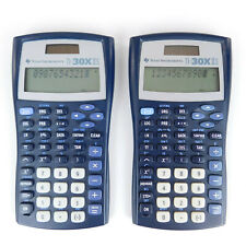 Texas Instruments Ti-30Xiis Calculator Lot of 2 Tested