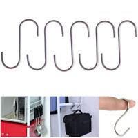 5 Support en forme de S pour suspendre le crochet en métal antirouille