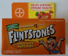 Flintstones Immunity Support Childrens MultiVitamin Extra Vitamin C Gummies