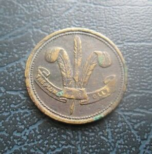 The Plume Club, Victorian Copper Token - Australian?