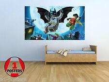 BATMAN LEGO-NUOVISSIMA-gigante poster parete arte Set-lbm01