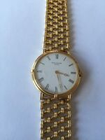 Patek Philippe Geneve 18K Yellow Solid Gold Men's Watch w/Solid Gold Band. MINT!