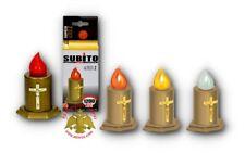 Orthodox Cemetery LED Candles Battery Operated Elektrisches Grablicht Votivlight