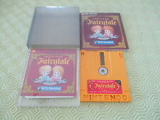 FAIRY TALE FAIRYTALE NES FAMICOM DISK JAPAN IMPORT COMPLETE IN BOX!