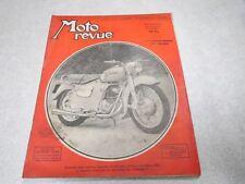 MOTO REVUE N° 1159 31 octobre 1953 4ème compte rendu du salon ALCYON, GEORGES  *