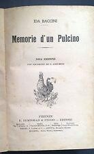 MEMORIE D'UN PULCINO BACCINI 1908