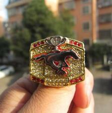 2008 Calgary Stampeders Grey Cup TEAM Ring Fan Men Gift