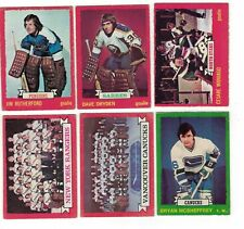 1973-74 OPC NHL lot - (VG-/VG) - pick only the cards you need - $1.25 each