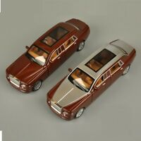 DIECAST METAL 1:30 MODEL CAR TOYS PULL BACK ROLLS-ROYCE PHANTOM SOUND LIGHT Toy