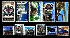 TANZANIA - 1965 - Motivi di campagna -  (11 valori su 14)