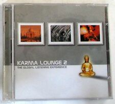 VARIOUS - KARMA LOUNGE 2 - Double CD Nuovo Unplayed
