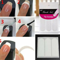 New French Manicure Nail Art Tips Form Guide Sticker Polish DIY #2