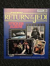 Topps: Star Wars Return of the Jedi Sticker Album. 100% Complete. **SUPERB**