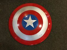 CAPTAIN AMERICA MARVEL THE AVENGERS ABS SHIELD 1/1 SCALE METAL 30""