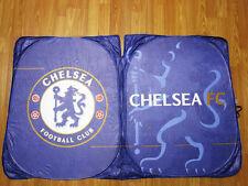 Chelsea Football Club Car Accessory Folding Front Sunshade Windshield Sunshield