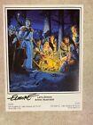 Vintage Mini Poster 8 x 6 TSR Promotional Poster AD&D Larry Elmore 1989 SIGNED