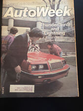 AutoWeek July 11, 1983; Thunder(bird) and Lightning, Ford; Vol 33, No 28 Vintage