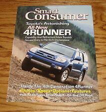 Original 2003 Toyota 4Runner Smart Consumer Sales Brochure 03