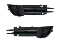 AUDI A3 8P 2003-2008 Grille pare-chocs !! AVANT DROITE/GAUCHE noir x2