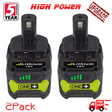 2Pcs For 18V Lithium Battery Ryobi ONE Plus P102 P103 P104 P108 P105 P107 4.0Ah