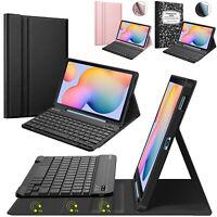 Keyboard Case for Samsung Galaxy Tab S6 Lite 10.4'' 2020 Soft TPU Back Cover