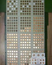 lincoln penny set collection  1909 vdb-2018 p d s wheat cent