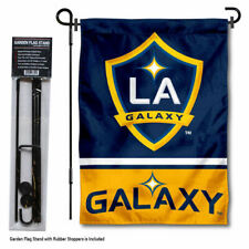 Los Angeles Galaxy Garden Flag and Yard Pole Stand Included