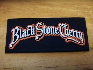 Black Stone Cherry Sew / Iron On Music Festival Embroidered Badge