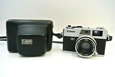 Vintage Canon Canonet QL QL17 40mm 1.7 Lens with Case / Untested