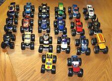 Hot Wheels Monster Jam Truck Lot of 20 1:64 (Batman/Madusa/Avenger/Blue Thunder)