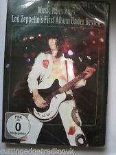 Led Zeppelin's First Album Under Review,  Music Milestones (DVD) NEW SEALED Pal
