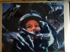 SIGNED Colette Hiller 10 x 8 Aliens