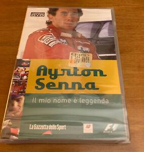 DVD Ayrton Senna Il mio nome è leggenda raro da collezione introvabile originale
